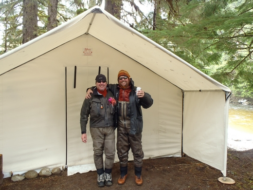 The woodstove was great for warming us up after a long day of steelhead fishing. Your wall tent made our season a great success. & Customeru0027s Testimonials and Pictures