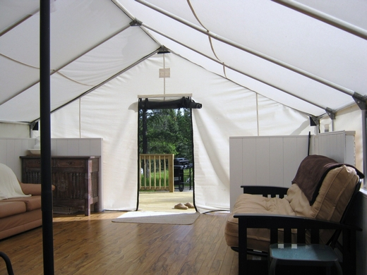 Customer 39 s testimonials and pictures for Tent platform construction