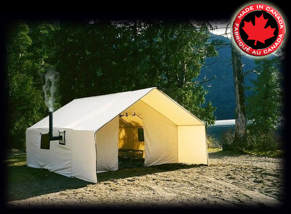 Deluxe-Wall-Tents-madetop & Deluxe Wall Tents - FREE SHIPPING in Canada