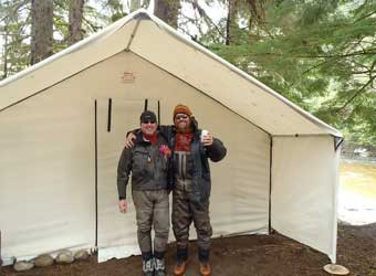 ... fishing-tent ... & Wall Tents - Canvas Tents - Insulated Wall Tents