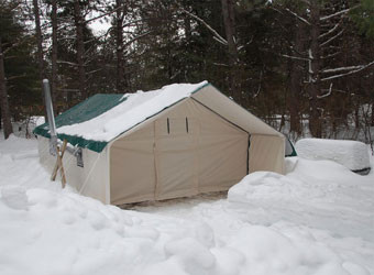 ... insulated-tent-snow ... : deluxe wall tents - memphite.com