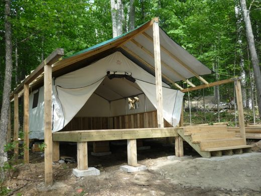 Customer 39 s testimonials and pictures for Canvas tent plans