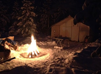 fire-tent-snow
