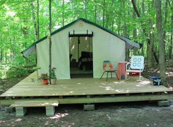 Deluxe Wall Tents - FREE SHIPPING in Canada